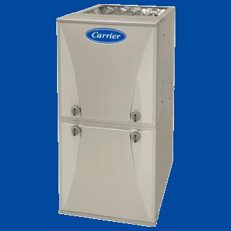 Carrier Comfort 95 gas furnace.